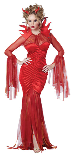 Women's Devilish Diva Adult Costume