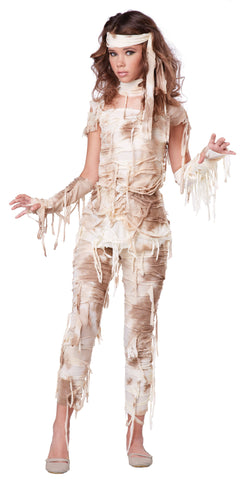 Girl's Mysterious Mummy Tween Costume - The Halloween Spot
