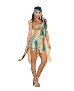 "Women's ""Scorpion Warrior Queen"" Costume Set - The Halloween Spot"