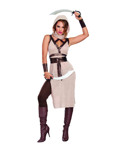 "Women's ""Desert Warrior"" Costume Set"