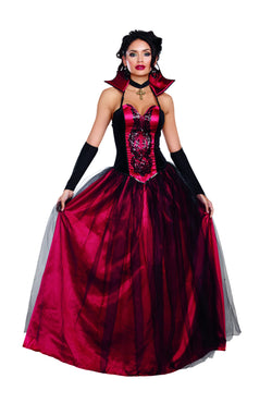 "Women's ""Bloody Beautiful"" Costume Set - The Halloween Spot"
