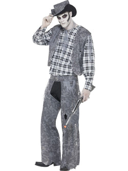 Men's Ghost Town Cowboy Costume