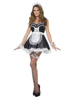 Black and White French Maid Set