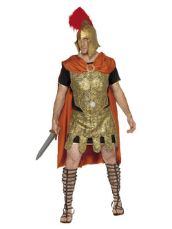 Men's Roman Soldier Tunic Costume - The Halloween Spot