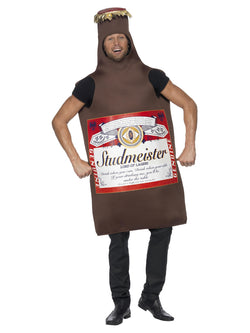 Men's Studmeister Beer Bottle Brown Costume