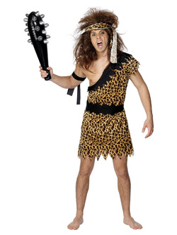 Brown Caveman Costume with tunic