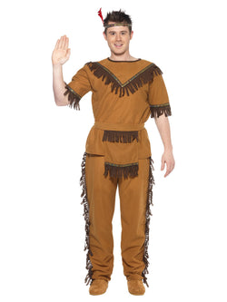 Men's Native American Inspired Brave Costume