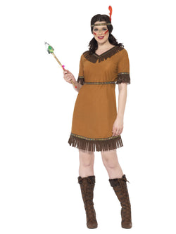 Women's Native American Inspired Maiden Costume - The Halloween Spot