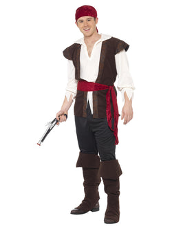 Men's Pirate Costume - The Halloween Spot