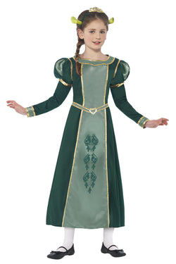 Girls Princess Fiona Costume