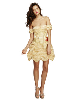 Women's Fever Golden Princess Costume - The Halloween Spot