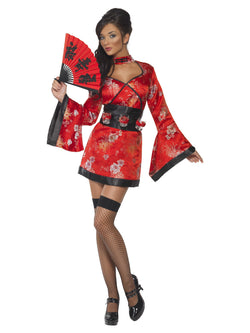 Women's Red Vodka Geisha Costume