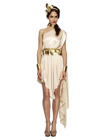 Womenu0027s Fever Goddess Costume · Womenu0027s Fever Goddess Costume  sc 1 st  The Halloween Spot & Toga Costume Women | Greek Goddess Costume u2013 The Halloween Spot