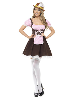 Women's Tavern Girl Brown Costume