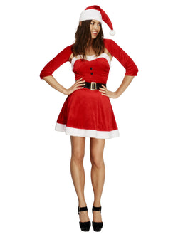 Women's Fever Santa Babe Costume