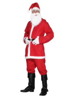 Men's Red Santa Suit Costume