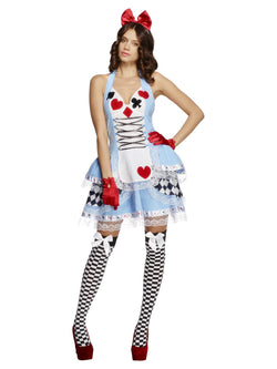 Women's Fever Miss Wonderland Costume