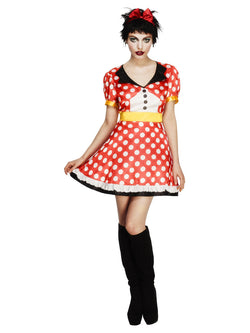 Women's Fever Miss Mouse Costume - The Halloween Spot