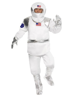 Men's White Spaceman Costume