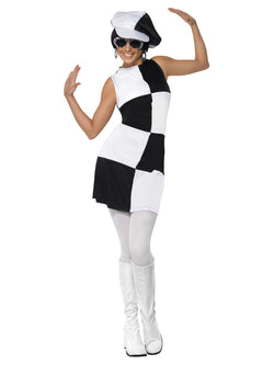 Women's 60s Party Girl Costume - The Halloween Spot