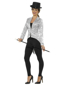 Sequin Tailcoat Jacket, Ladies - The Halloween Spot