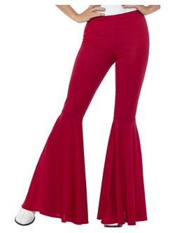 1960's Flared Red Trousers for Ladies