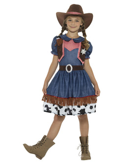 Girl's Texan Cowgirl Costume - The Halloween Spot