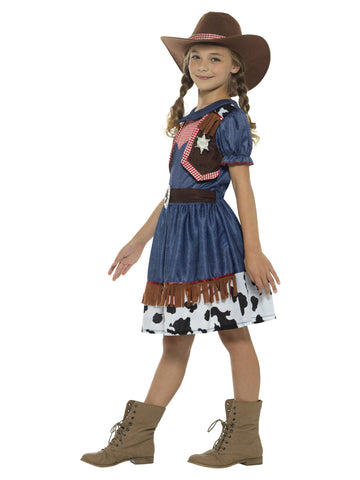 Kids Texan Cowgirl Costume Cowgirl Costume The Halloween Spot