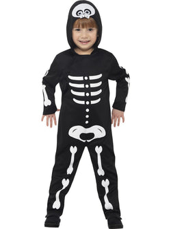 Skeleton Toddler Costume Set