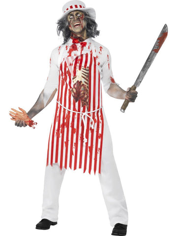 Men's Hell's Kitchen Bloody Butcher Costume