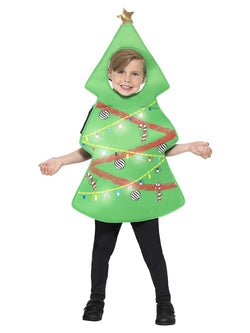 Kids Green Christmas Tree Costume