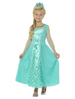 Blue coloured Ice Princess Costume