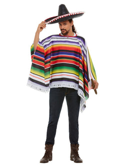 Poncho, Multi-Coloured