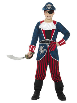 Deluxe Pirate Captain Costume - The Halloween Spot