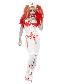 Women's Blood Drip Nurse Costume - The Halloween Spot