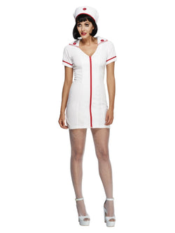 Women's Fever No Nonsense Nurse Costume - The Halloween Spot