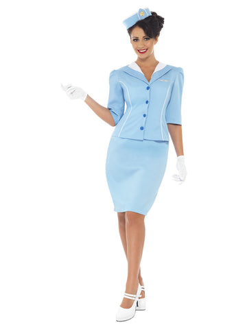 Women's Air Hostess Costume