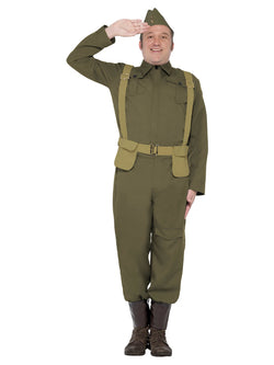 Men's WW2 Home Guard Private Costume - The Halloween Spot