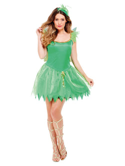 Women's Woodland Fairy Costume - The Halloween Spot