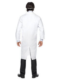 Men's Doctor's white coat with mask - The Halloween Spot
