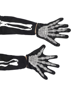 Skeleton Gloves, Child - The Halloween Spot