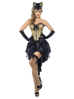 Women's Burlesque Kitty Costume