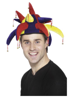 Multi-coloured Jester Hat