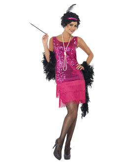 Women's Funtime Flapper Costume - The Halloween Spot