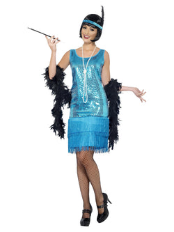 Women's Flirty Flapper Costume