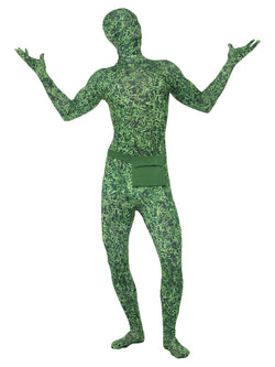 Men's Second Skin Costume, Grass Pattern - The Halloween Spot