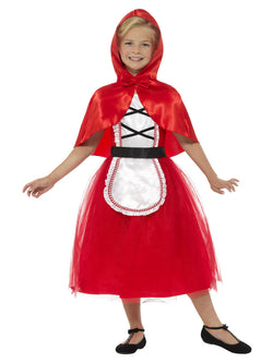 Girl's Deluxe Red Riding Hood Costume