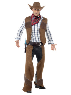Men's Fringe Cowboy Costume