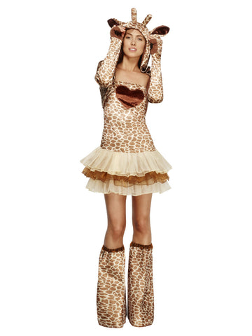 womens fever giraffe costume tutu dress
