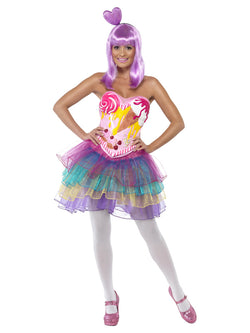 Women's Candy Queen Pink Costume
